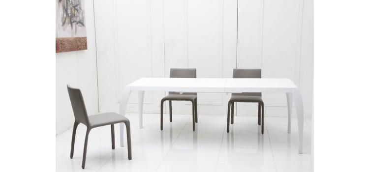760 - Modern Extend-able Dining Table