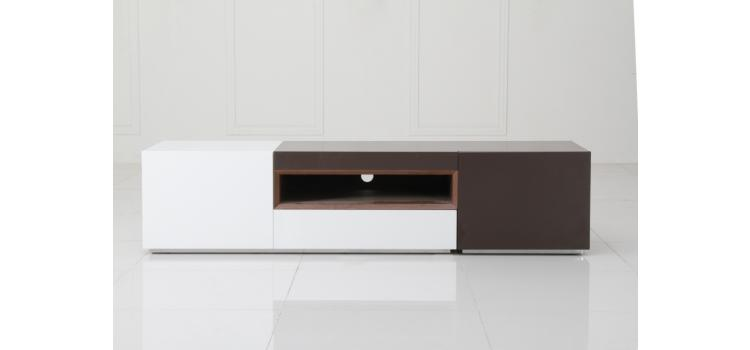 Puzzle Modern 2 Tone TV Entertainment Unit