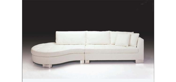 F48L Contemporary leather sectional sofa set