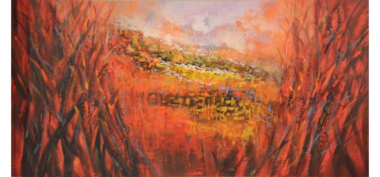 """28"""" x 55"""" Oil Painting no. C1491"""