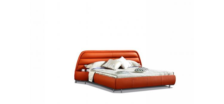 B803R - Modern Eco-Leather Bed
