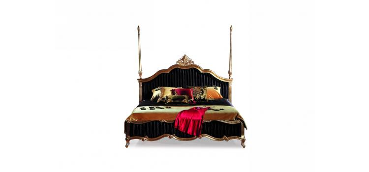 B805 - Transitional Eco-Leather Bed