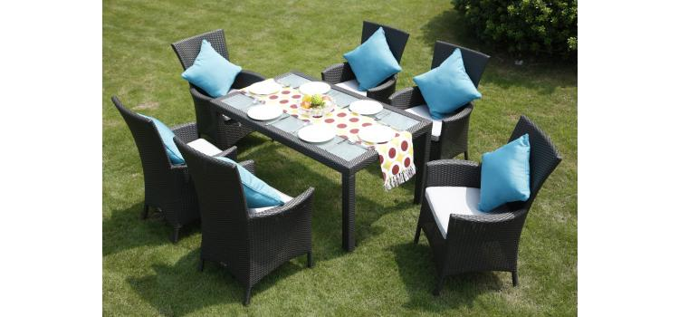 2107GP Patio Set (Table and 6 Chairs)