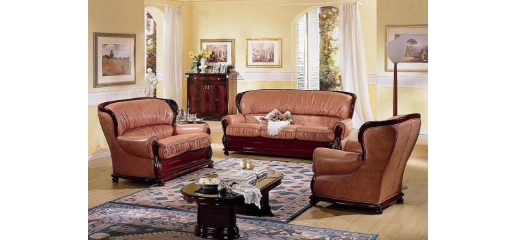 Parigi Traditional Italian Sofa Set