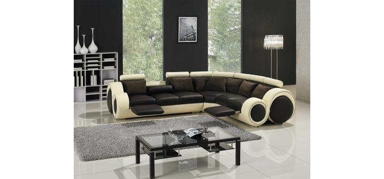 T27C - Sectional Sofa with Recliners