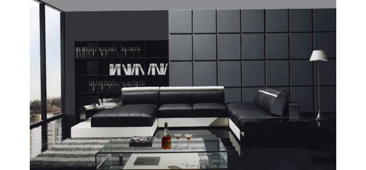 YIL T66 Ultra Modern Leather Sectional Sofa