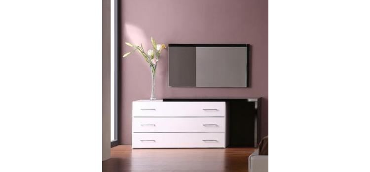 Infinity - Contemporary Dresser and Mirror