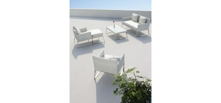 Aegean - 5 Piece Patio Lounge Set