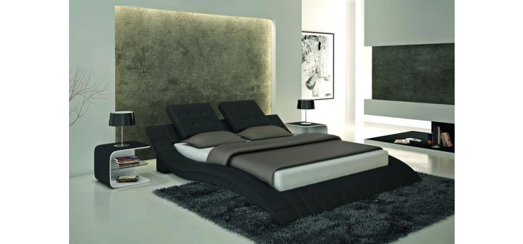 S606 - Contemporary Eco-Leather Bed