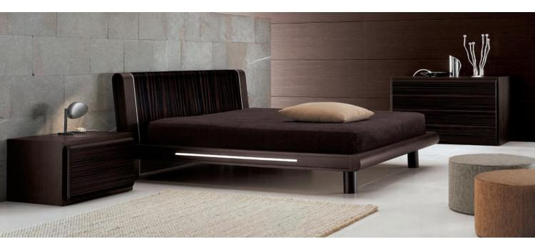 Matrix Ebony - Bed - Made in Italy
