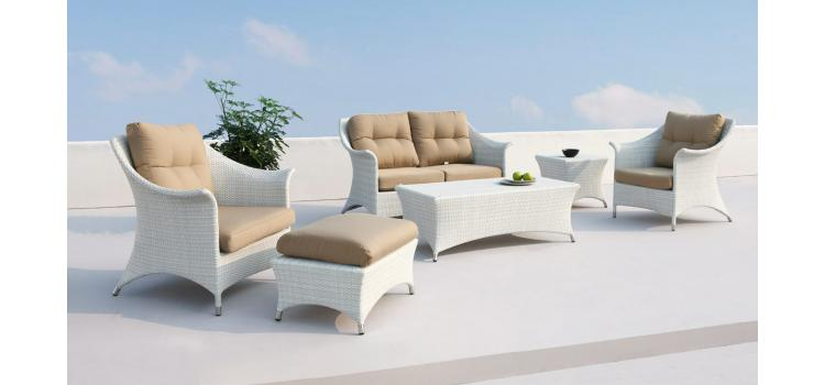 Coral Patio Sofa Set