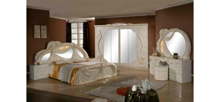 Gina   Made in Italy White 5 Pieces Bedroom Set. Modern Furniture Sacramento   Modern furniture for your