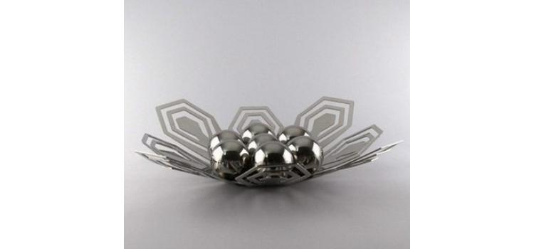 Neoclassic Stainless Steel Fruit Plate
