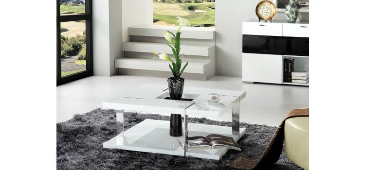 Glacier Modern coffee table