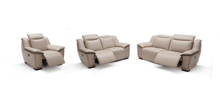 Kuka  Modern Full Leather Sofa Set