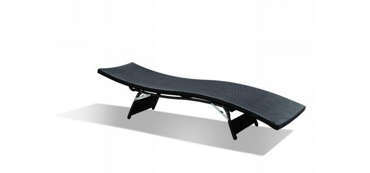 GB-09 Outdoor Chaise Lounge With Optional Cushion