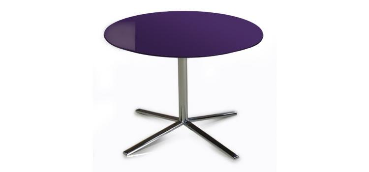T48A - Purple End Table