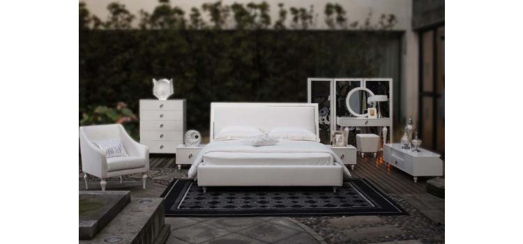 Princess Luxury Leather Bed