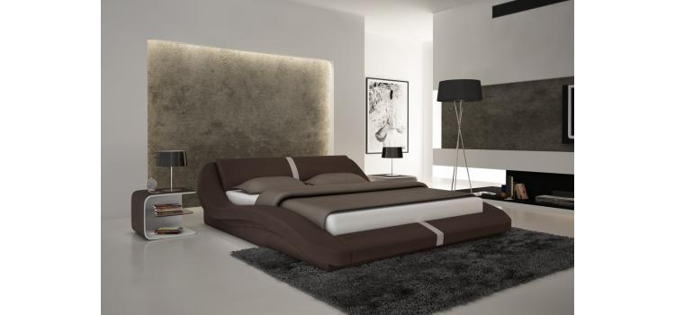 S603 - Contemporary Eco-Leather Bed