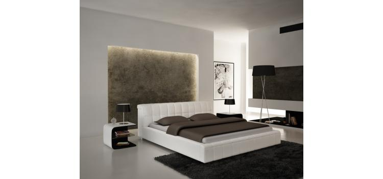 S612 - Contemporary Eco-Leather Bed