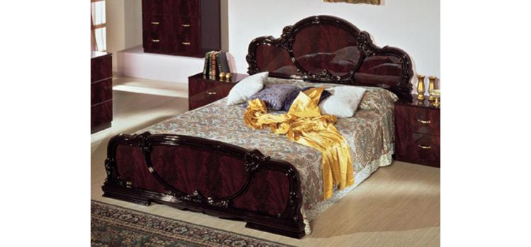 Serena Mahogany Traditional Italian Bed. Modern Furniture Sacramento   Modern furniture for your