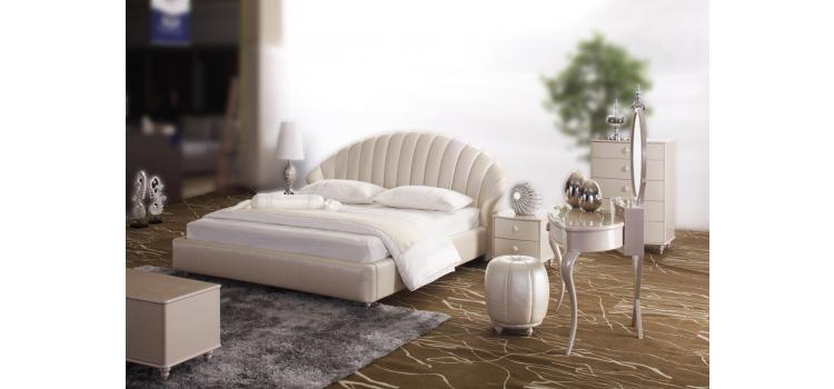 Tinger Luxury Leather Bed