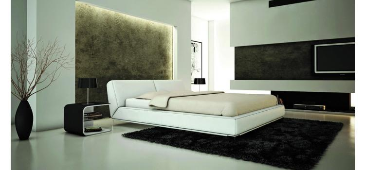 U501W - Modern Eco-Leather Bed
