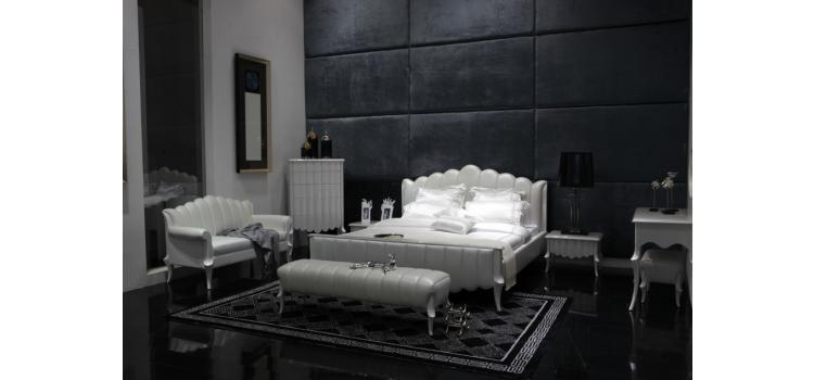 Waterfall - Luxury Leather Bed