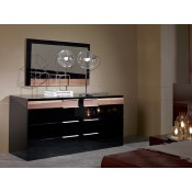 modrest alaska black mirror alaska black oak office desk