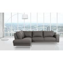 Divani Casa Primrose - Modern Eco-Leather Sectional Sofa