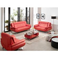 Divani Casa 2906 - Modern Bonded Leather Sofa Set With Coffee Table