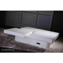 A&X Modern Crocodile white coffee table 8879a