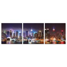 "Modrest NYC at Night - 24"" x 24"" Photo on Canvas"