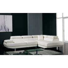 Divani Casa T60 - Modern Bonded Leather Sectional Sofa