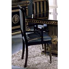 Modrest Rossella - Italian Classic Black Dining Arm Chair
