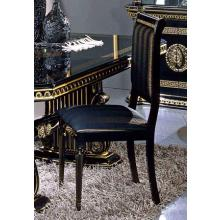 Modrest Rossella - Italian Classic Black Fabric Dining Chair