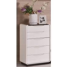 Modrest 2016 Modern White and Black 5-Drawer Chest