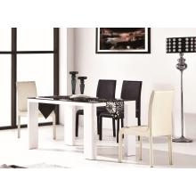 Modrest 2018 Modern White and Black Dining Table