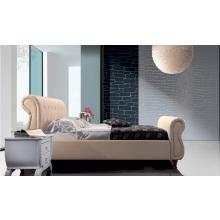 Modrest H553 Modern Beige Leatherette Bed