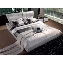 Modrest K6605 Modern Beige Leatherette Bed
