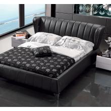 Modrest K6661 Modern Black Leatherette Bed