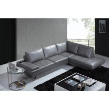 Divani Casa K8496 Modern Black Leather Sectional Sofa