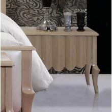 Modrest Waterfall Beige Nightstand