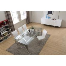 Modrest T8978 Modern Glass Rectangular Dining Table