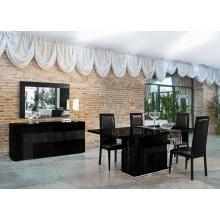 Modrest Ancona Modern Black Dining Set