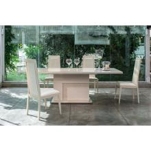 Modrest Ancona Modern Beige Extendable Dining Table
