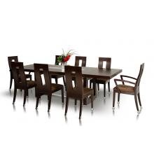 Modrest Thor - Modern Wenge Table and 6 Chair Dining Set