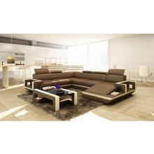 Divani Casa 5102 Modern Bonded Leather Sectional Sofa