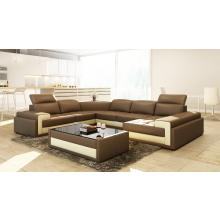 Divani Casa 5104 Modern Bonded Leather Sectional Sofa