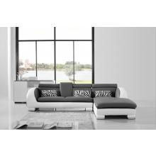 Divani Casa 816 Mini - Modern Leather Sectional Sofa